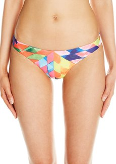 Mara Hoffman Women's Fractals Low Rise Bikini Bottom