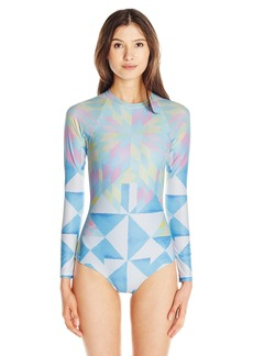 Mara Hoffman Women's Fractals Surf Suit One Piece Swimsuit