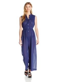 Mara Hoffman Women's Gathered Jumpsuit Cover up
