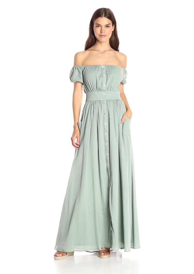 Mara Hoffman Women's Gauze Off-Shoulder Maxi Dress