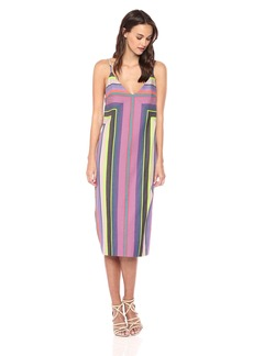 Mara Hoffman Women's Georgia Spaghetti Strap Midi Shift Dress