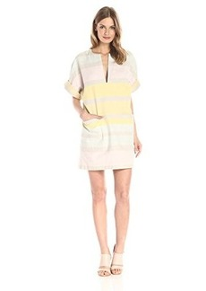 Mara Hoffman Women's Gradient Stripe Mini Dress