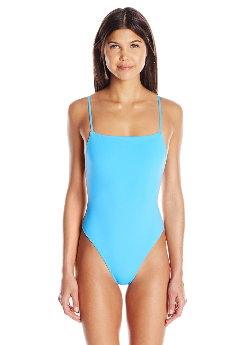 5bc84f7e2261d Mara Hoffman Mara Hoffman Women's High Cut One Piece Swimsuit XL Now ...