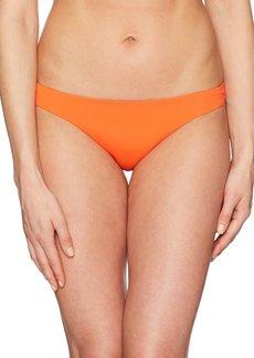 Mara Hoffman Women's Kay Solid Bikini Bottom  S