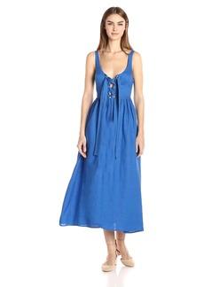 Mara Hoffman Women's Lace Up Midi Dress