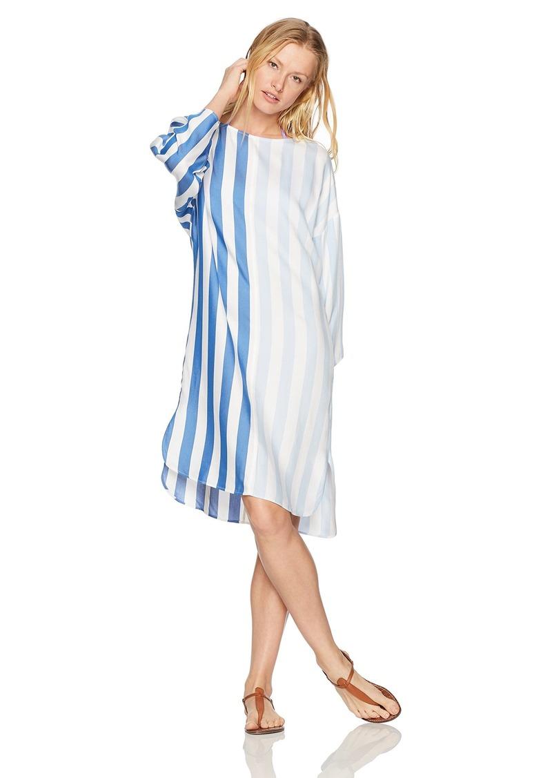 93fe271771 Mara Hoffman Mara Hoffman Women's Larkin Boater Stripe Dress Cover ...