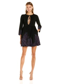 Mara Hoffman Women's Leaf Mini Dress