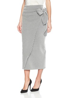 Mara Hoffman Women's Ling High Waisted Pull on Wrap Skirt
