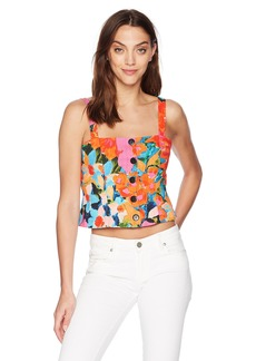 Mara Hoffman Women's Malin Button up Tank Top