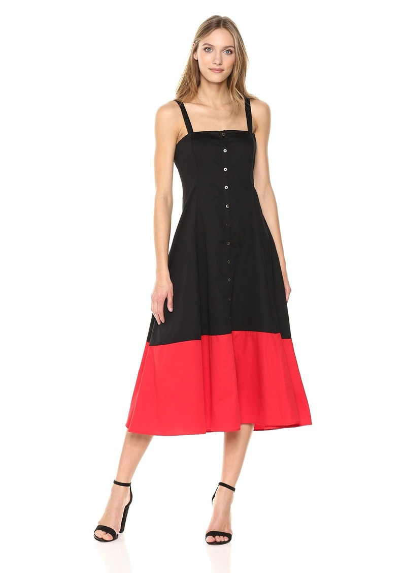 Mara Hoffman Women's Marina Button up Tank Midi Dress