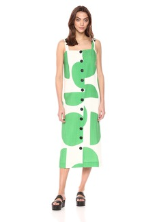 Mara Hoffman Women's Maureen Button up Tank Midi Dress