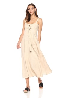 Mara Hoffman Women's Mei Lace up Tank Ankle Dress
