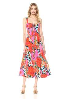 Mara Hoffman Women's Mei Lace Up Tank Ankle Dress