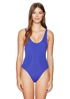 Mara Hoffman Women's MIA Scoop One Piece Swimsuit  M