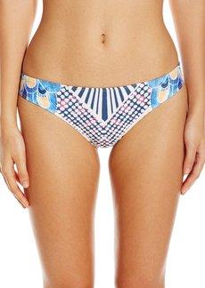 Mara Hoffman Women's Peacocks Classic Bikini Bottom