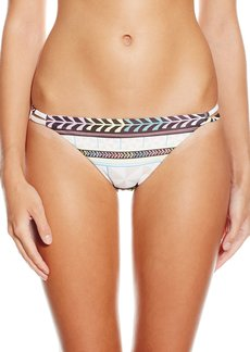 Mara Hoffman Women's Pinwheel Spaghetti Strap Bikini Bottom M Multi