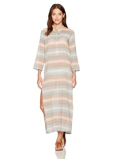 Mara Hoffman Women's Placket Front Caftan Cover Up