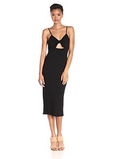 Mara Hoffman Women's Ponte Tie Front Midi Dress