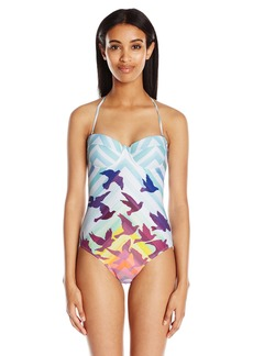 Mara Hoffman Women's Prismatic Bustier One Piece Swimsuit