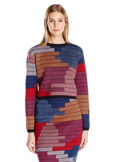 Mara Hoffman Women's Radial Cropped Sweater