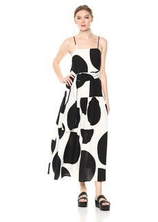 Mara Hoffman Women's Renata Drop Waist Belted Midi Dress