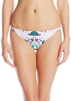 Mara Hoffman Women's Reversible Basket Weave Bikini Bottom