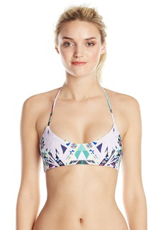 Mara Hoffman Women's Reversible Basket Weave Triangle Bikini Top