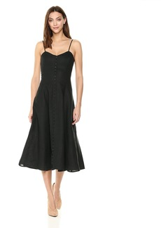 Mara Hoffman Women's Robyn Spaghetti Strap Hook and Eye Ankle Dress