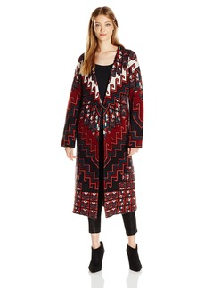 Mara Hoffman Women's Rug Knit Sweater Coat