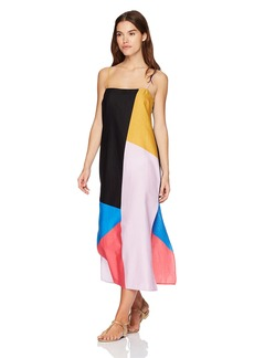 Mara Hoffman Women's Sena Chapiteau Sleeveless Maxi Dress Cover-up  S