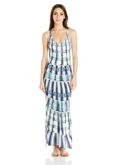 Mara Hoffman Women's Shells Model Racer Back Maxi Dress Cover up