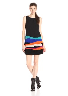 Mara Hoffman Women's Sleeveless Embellished Mini Dress