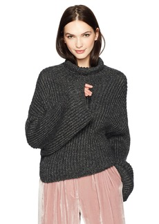 Mara Hoffman Women's Sonia Turtleneck Cropped Sweater