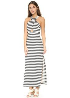 Mara Hoffman Women's Stripe Jacquard Maxi Dress