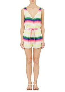 Mara Hoffman Women's Striped Gauze Romper