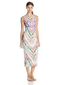 Mara Hoffman Women's Tie Back Midi Cover Up Dress