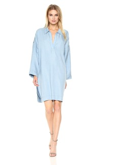 Mara Hoffman Women's  Tunic Dress denim L