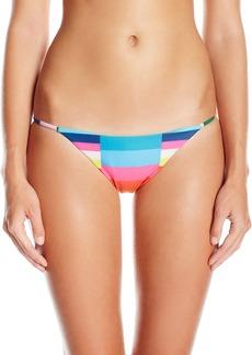 Mara Hoffman Women's Vela Spaghetti-Side Bikini Bottom  M