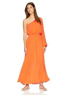 Mara Hoffman Women's Vera One Shoulder Maxi Cover Up Dress