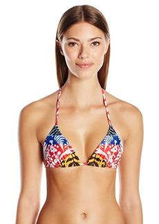 Mara Hoffman Women's Verbena String-Tie Bikini Top  M