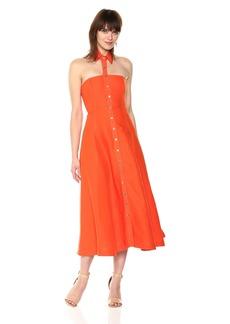 Mara Hoffman Women's Veronique Button Up Floating Collar Midi Dress