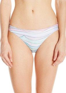 Mara Hoffman Women's Waves Low Rise Bikini Bottom  S