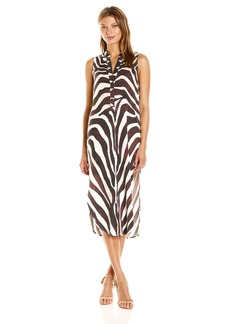 Mara Hoffman Women's Zebra Shirt Dress