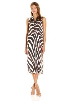 Mara Hoffman Women's Zebra Shirt Dress