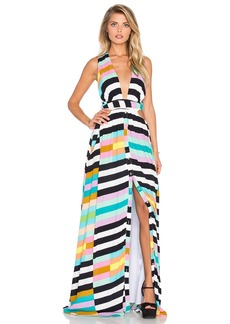 Mara Hoffman Wrap Top Maxi Dress