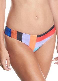 Mara Hoffman Zoa Brushed Stripes Swim Bikini Bottom
