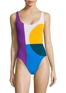 Mara Hoffman Mia One-Piece Swimsuit