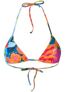 Mara Hoffman printed bikini top