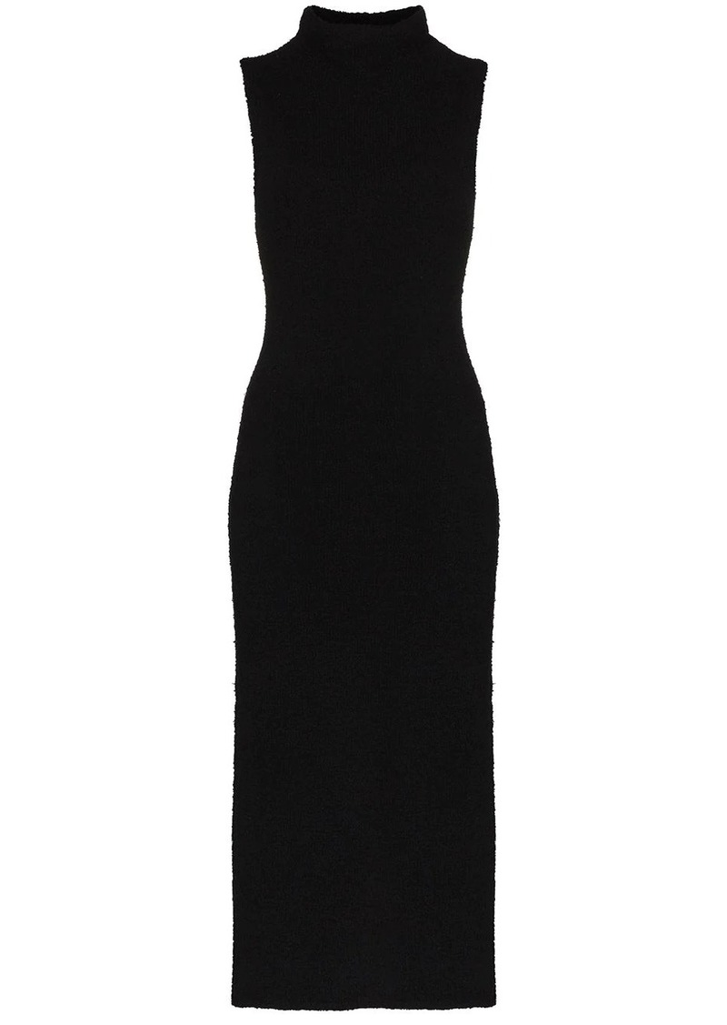 Mara Hoffman Rory high neck midi dress