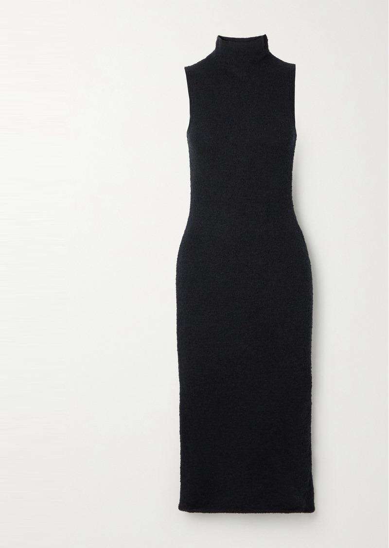 Mara Hoffman Rory Stretch-organic Cotton Cloqué Midi Dress